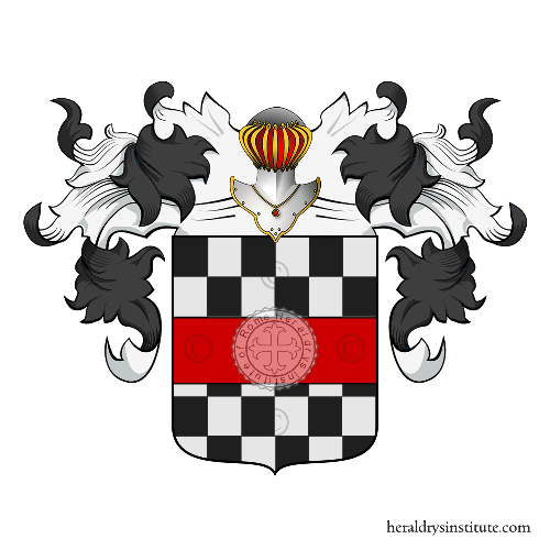 Coat of Arms of family Tonello