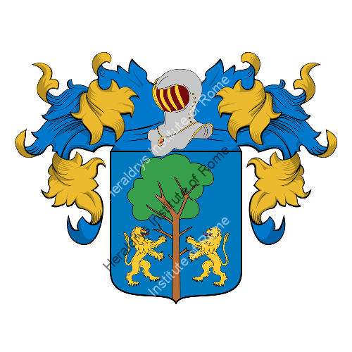 Coat of Arms of family Denda