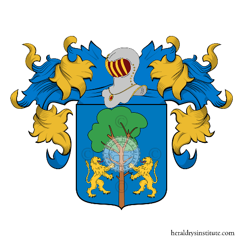 Coat of arms of family Albiero