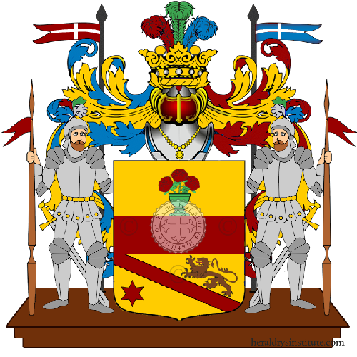 Coat of arms of family Bozzelli