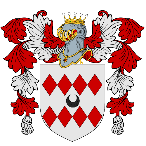 Coat of arms of family Pressoir
