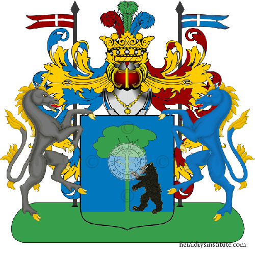 Coat of Arms of family Zarine