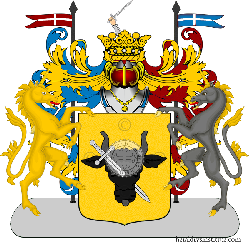 Coat of Arms of family Frazzetta