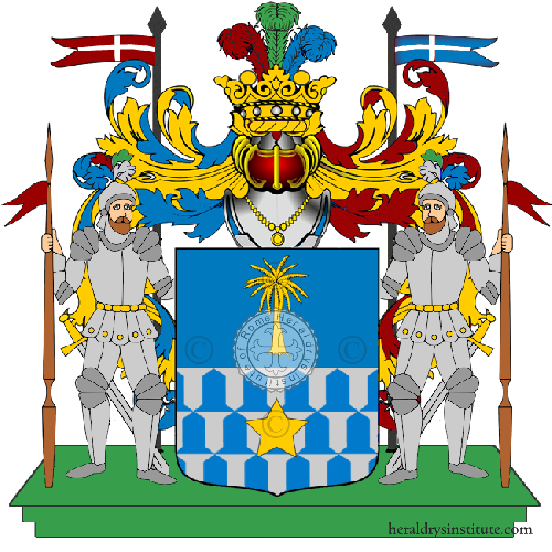 Coat of arms of family Ebriani