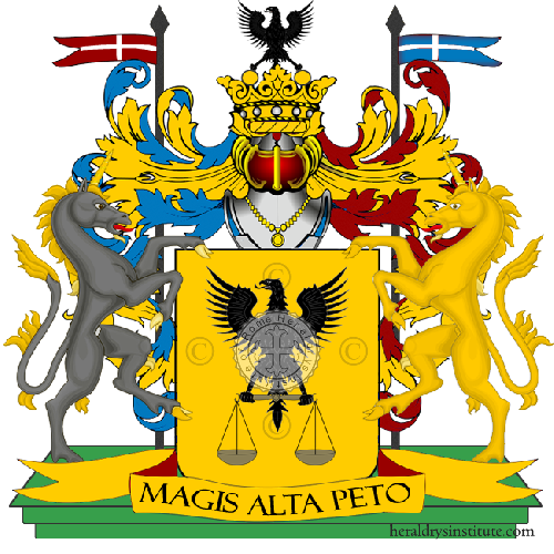 Coat of Arms of family Vrazia