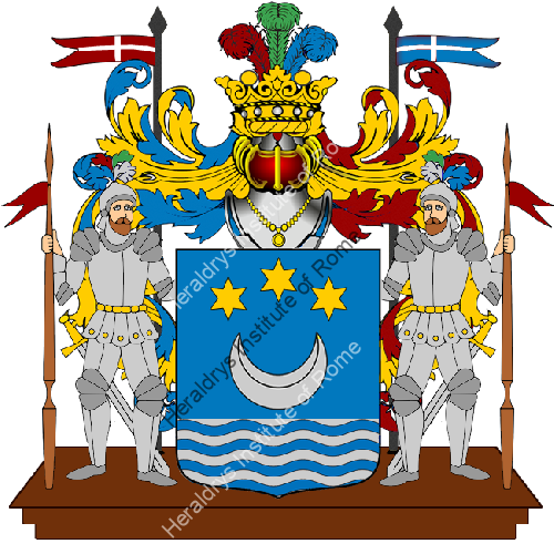 Coat of Arms of family Naldani