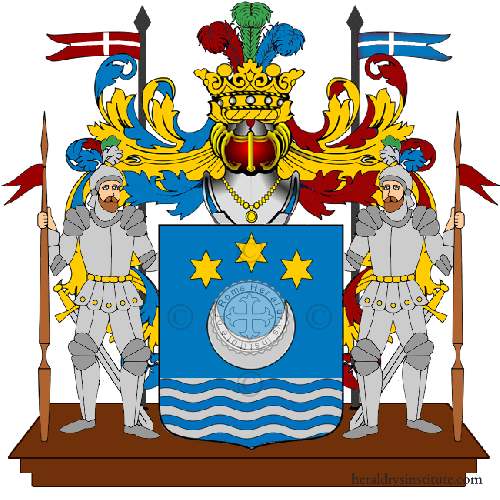 Coat of Arms of family Valdani
