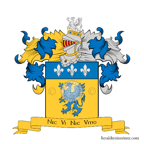 Coat of Arms of family Sanzi