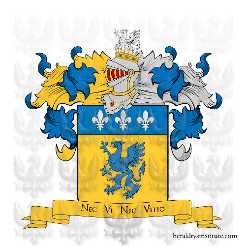 Coat of Arms of family Treppi