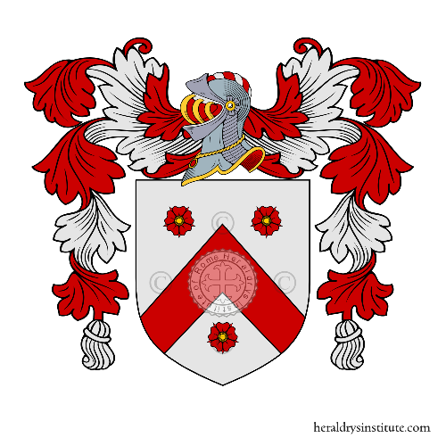Coat of arms of family Nevejans