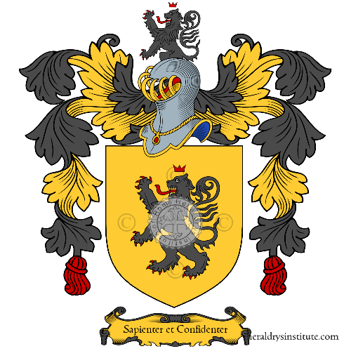 Coat of arms of family Bertrand