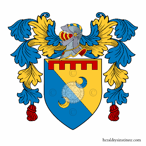 Coat of arms of family Cipolloni