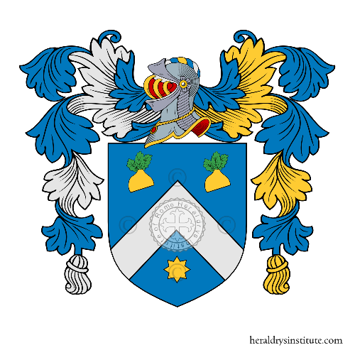 Coat of arms of family Rapelli