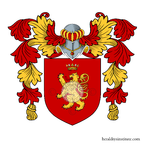 Coat of arms of family Letizia