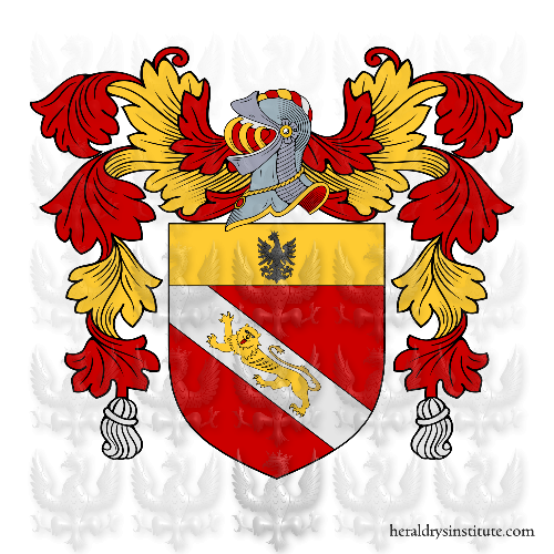 Coat of arms of family Cinotti