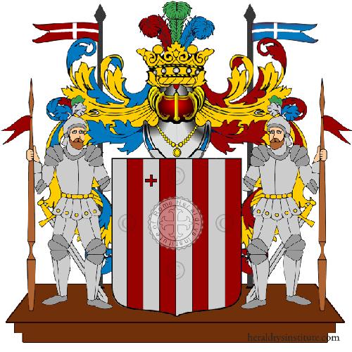 Coat of Arms of family Primani