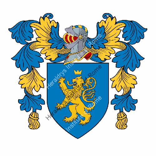 Coat of arms of family Carpenino