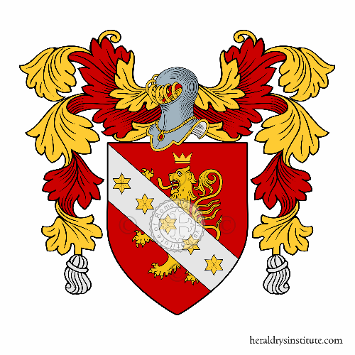 Coat of arms of family Ferretto