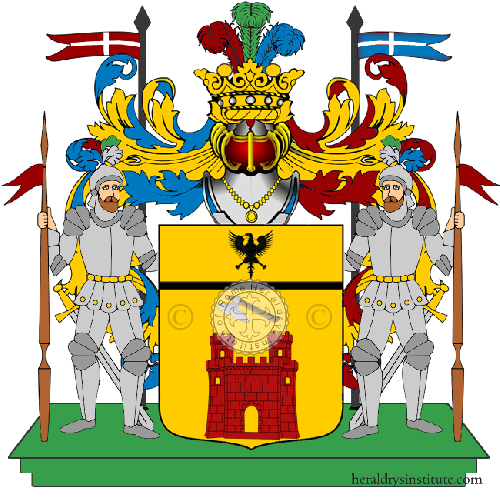 Coat of Arms of family Migliacca