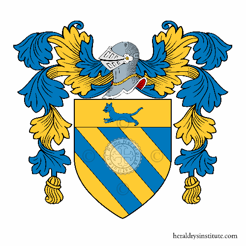 Coat of arms of family Raspante