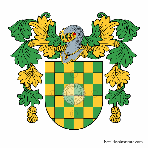Coat of arms of family Manolla