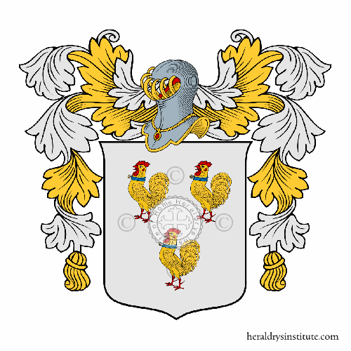 Coat of arms of family Fowler