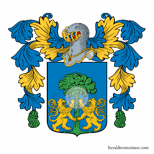 Coat of arms of family Cerulli