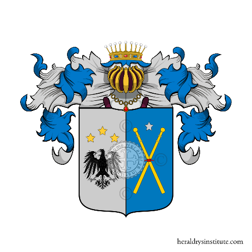 Coat of Arms of family Nigrisolo