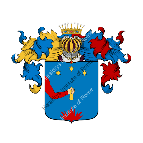 Coat of Arms of family Vossi