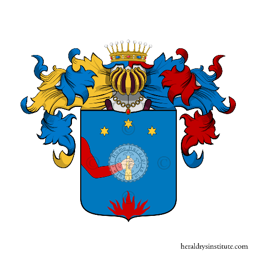 Coat of Arms of family Zossi