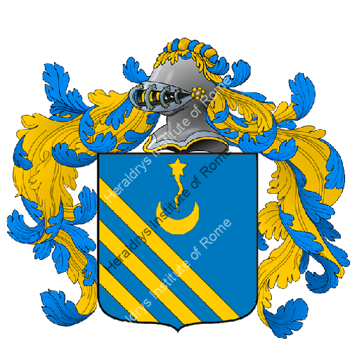 Coat of arms of family Carcioni