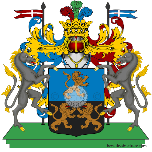 Coat of Arms of family Sguarnieri