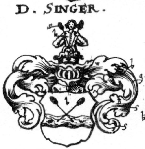 Coat of arms of family Singer