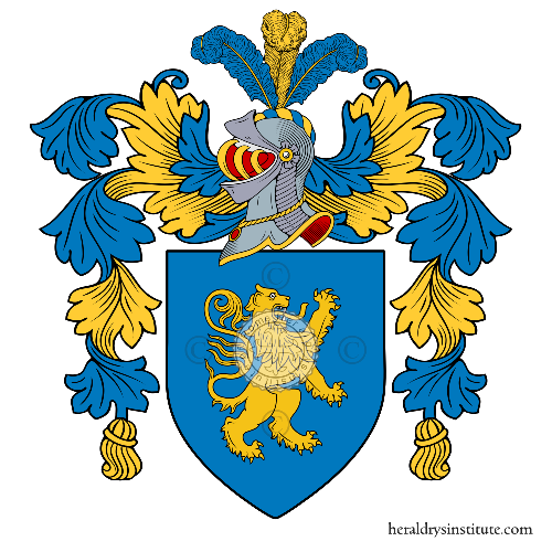Coat of arms of family Organtini