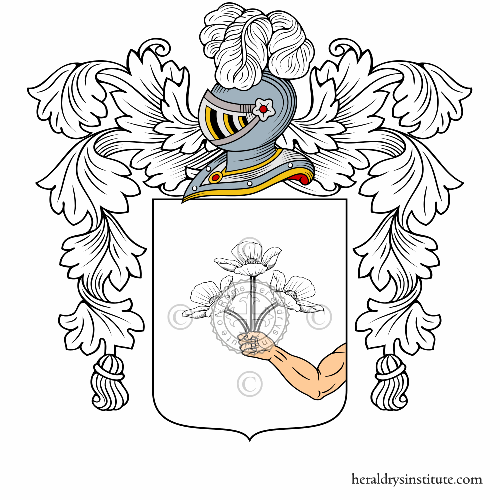 Coat of arms of family Fiorucci