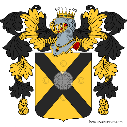 Coat of arms of family di Geronimo