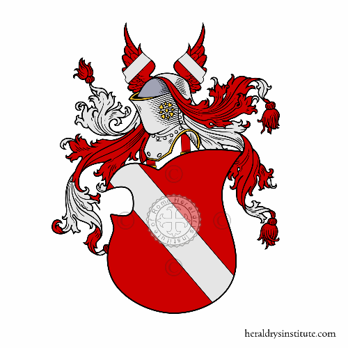 Coat of arms of family Sand
