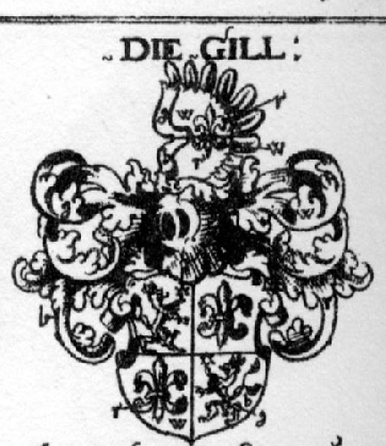 Coat of arms of family Gill