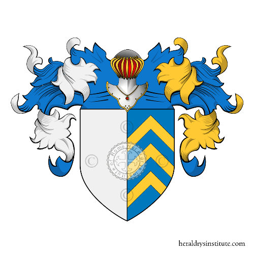 Coat of arms of family del Giudice