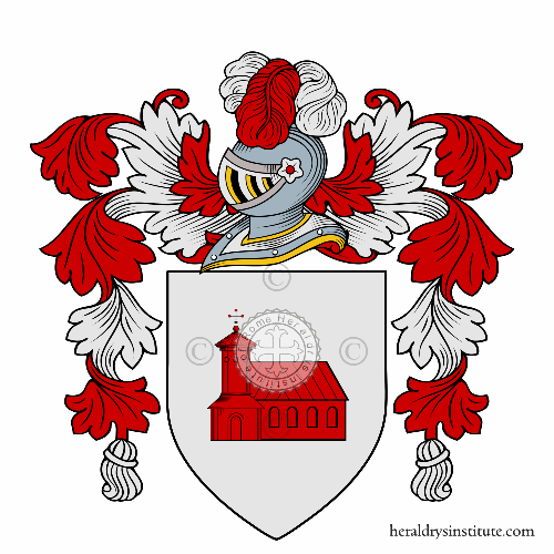 Coat of arms of family Jacone