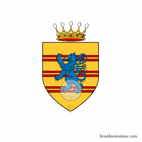 Coat of arms of family Tedaldi