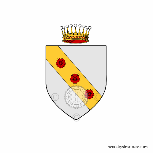 Coat of arms of family Ghieri
