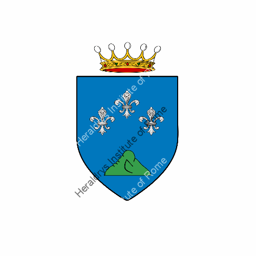 Coat of arms of family Rebescotti