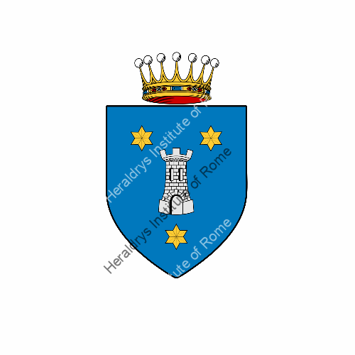 Coat of arms of family Torresani