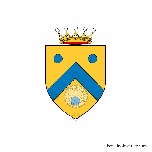 Coat of arms of family Pizica