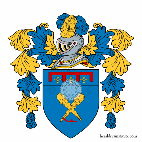 Coat of arms of family Mazzocchi