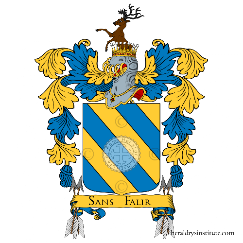 Coat of arms of family Duchi