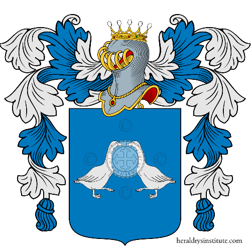 Coat of arms of family Alunno