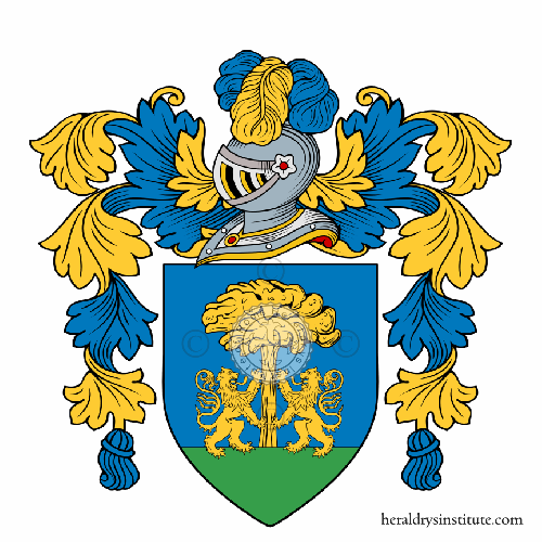 Coat of arms of family Alunni