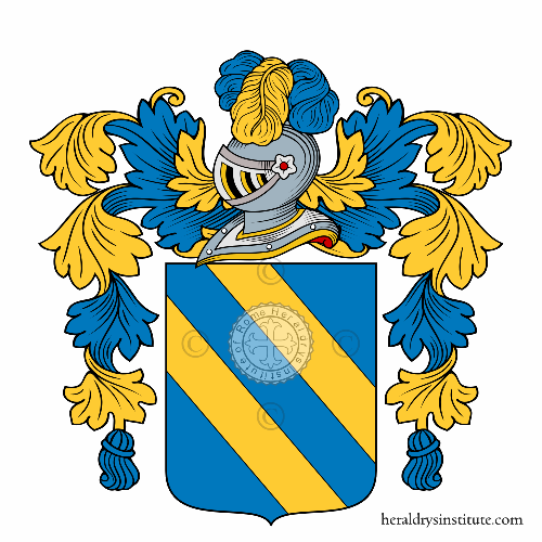 Coat of arms of family Mangogna